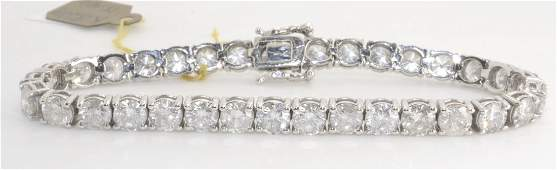 Diamond Tennis Bracelet Appraised Value: $54,00