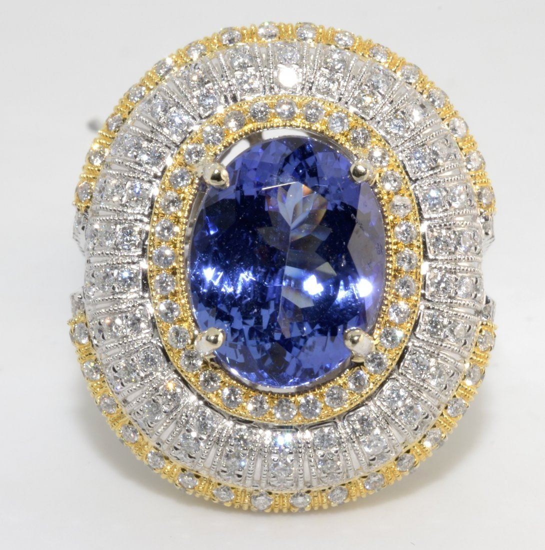 Tanzanite & Diamond Ring Appraised Value: $26,085