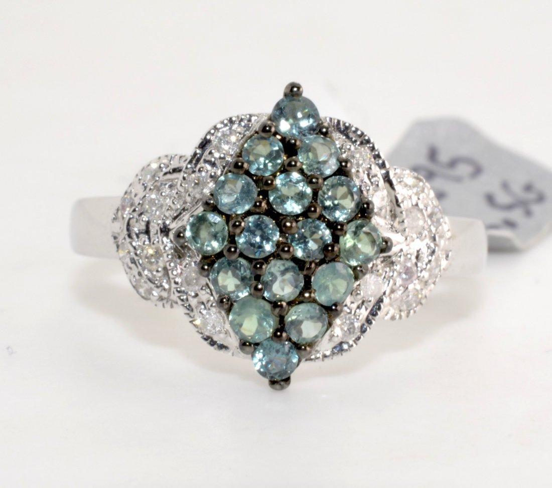 Alexandrite & Diamond Ring (EGL CERTIFIED)