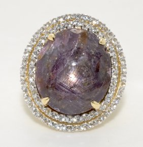 Ruby & Sapphire Ring Appraised Value: $3,200