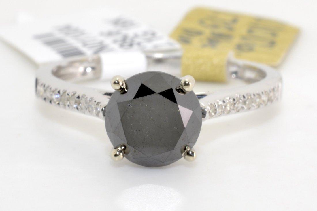 Black & White Diamond Ring Appraised Value: $4,112