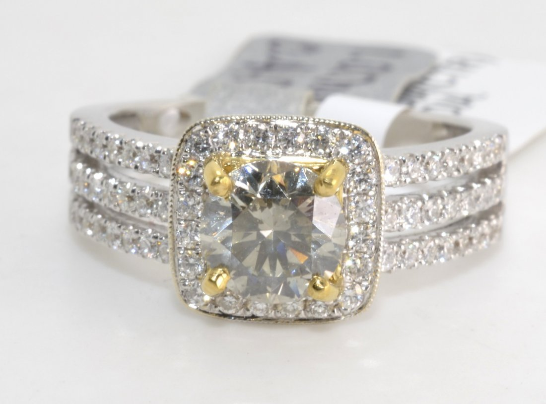 Diamond Ring Appraised Value: $13,750