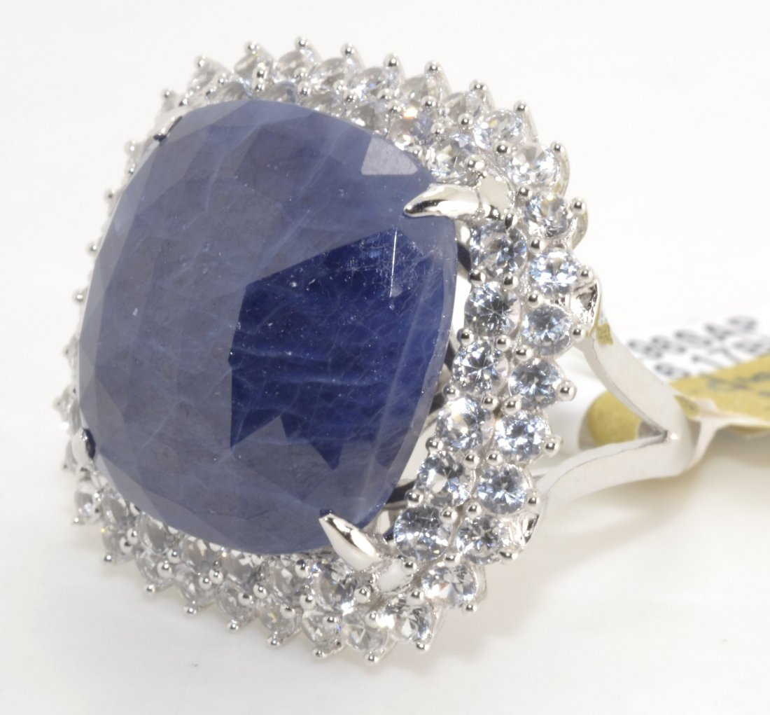 Sapphire Ring Appraised Value: $2,765