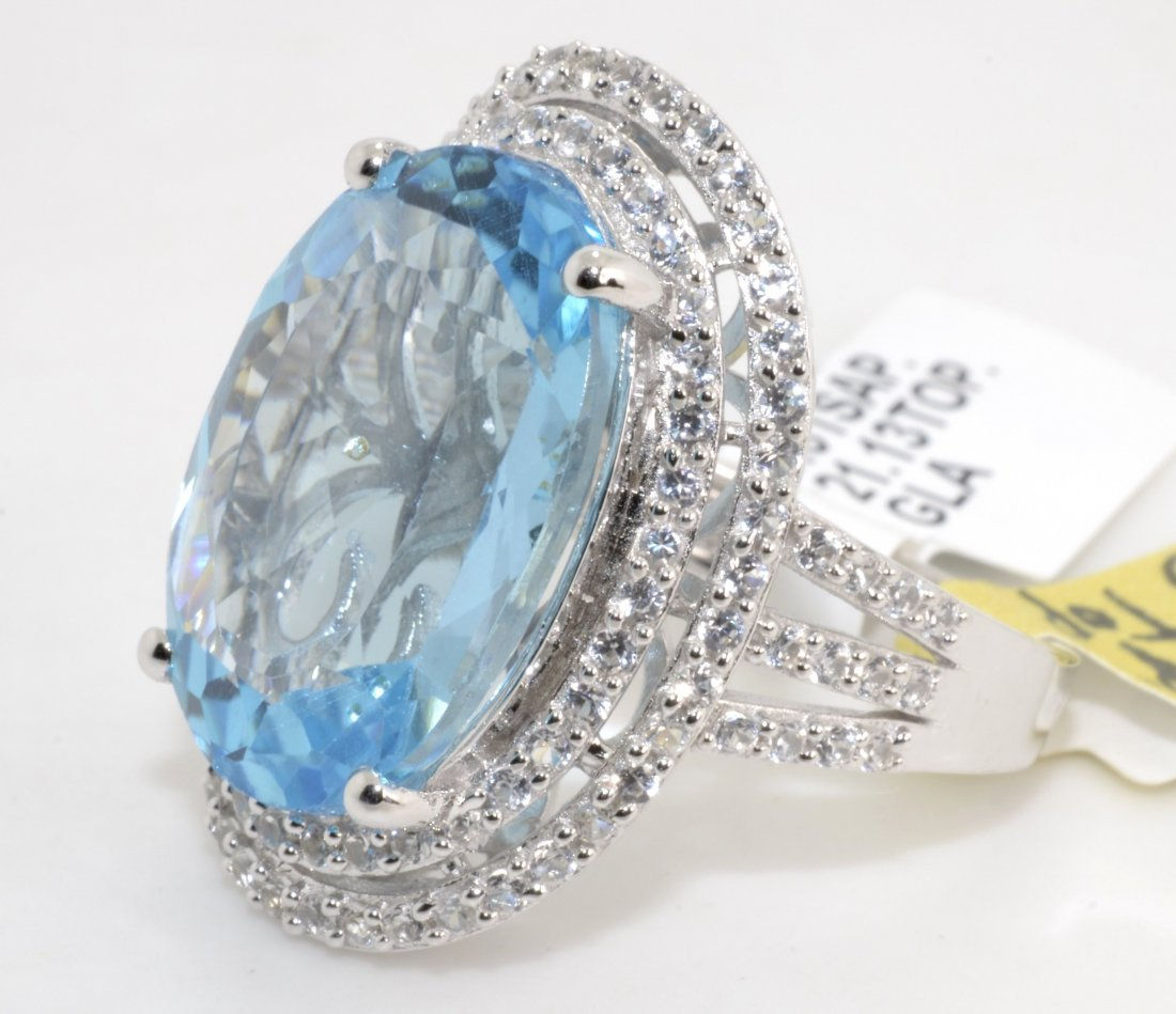 Topaz Ring Appraised Value: $5,654