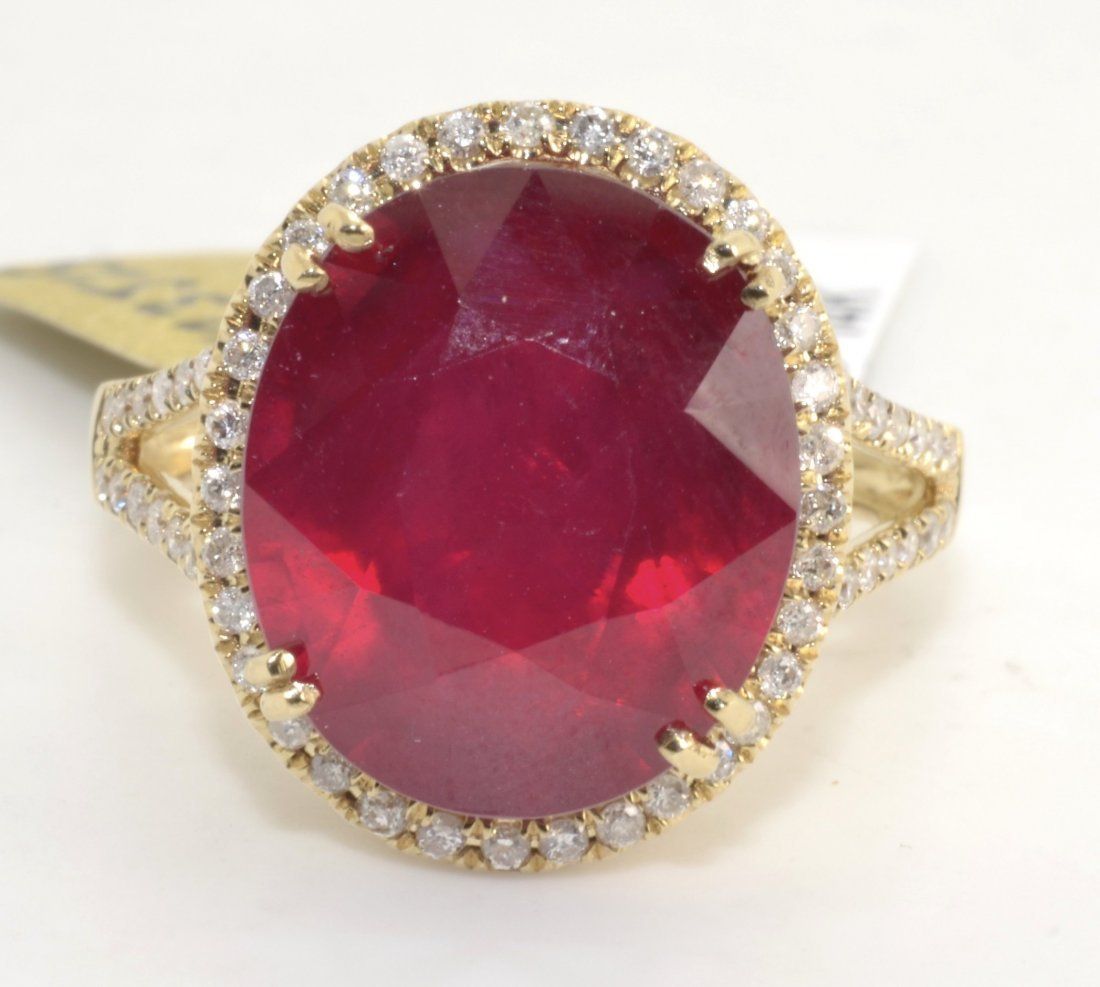 Ruby & Diamond Ring Appraised Value: $5,820