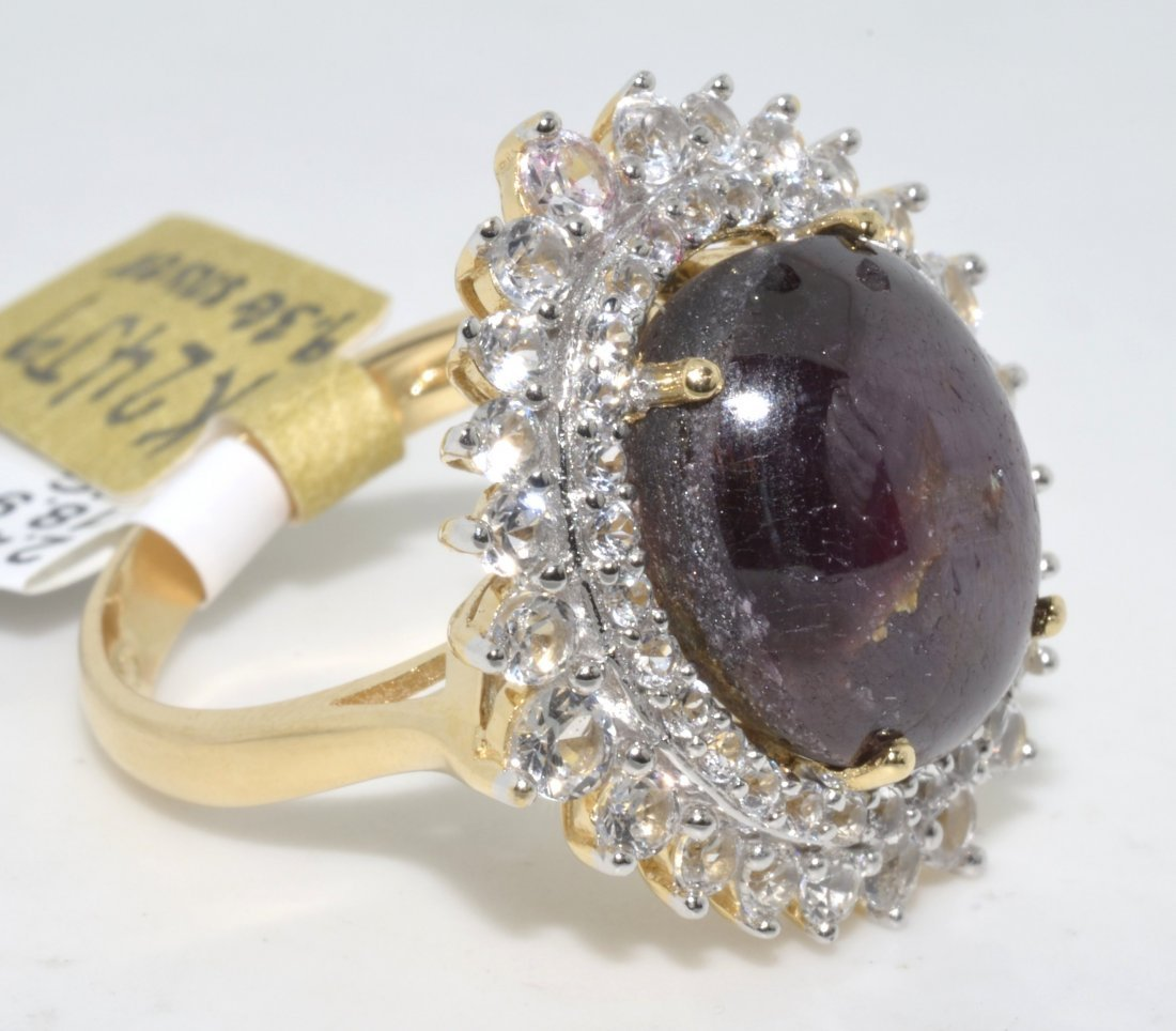 Ruby & Sapphire Ring Appraised Value: $2,550