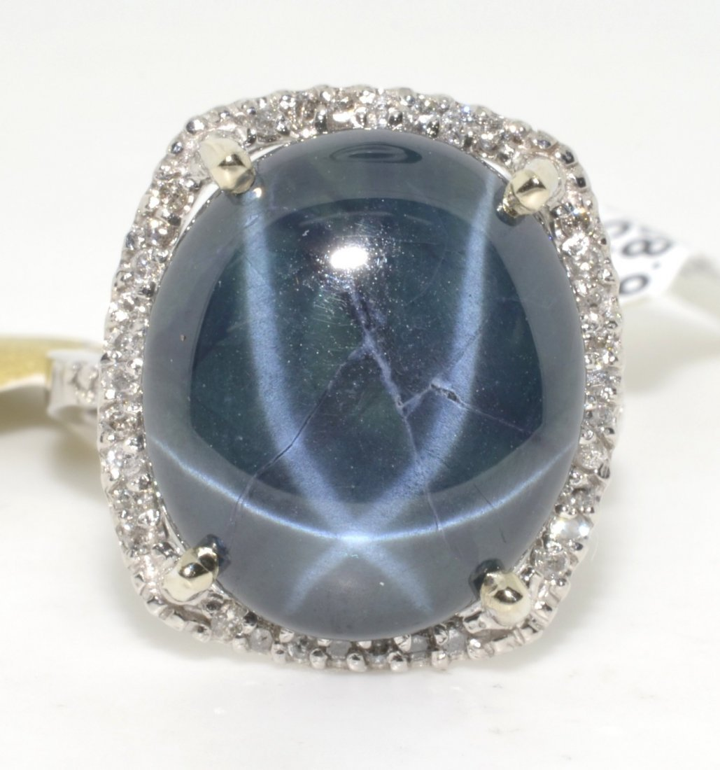 Sapphire & Diamond Ring Appraised Value: $24,744