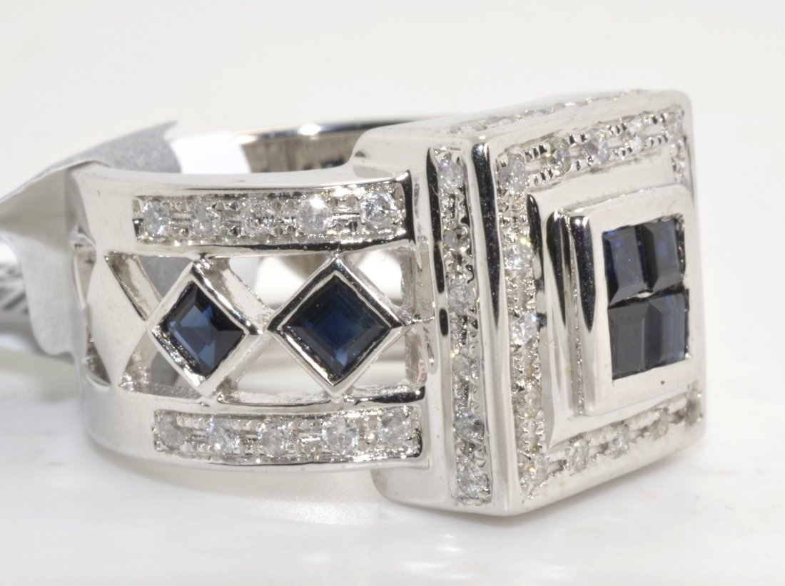 Sapphire & Diamond Ring Appraised Value: $4,497