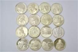 630.25 Grams Silver Coins