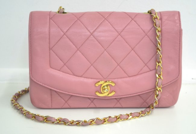 Chanel Pink Bag (USED)