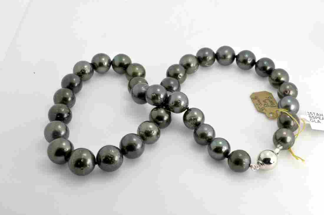 Tahitian South Sea Cultured Pearl Necklace AV: $14,329