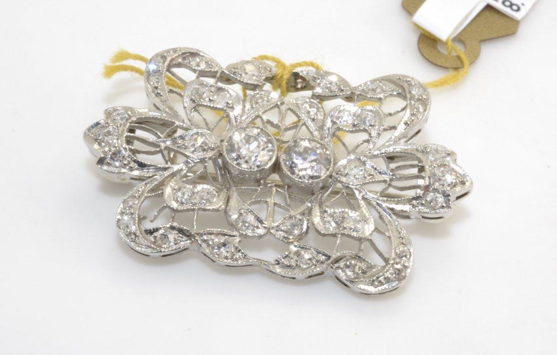 Diamond Brooch Apprasied Value: $7,150