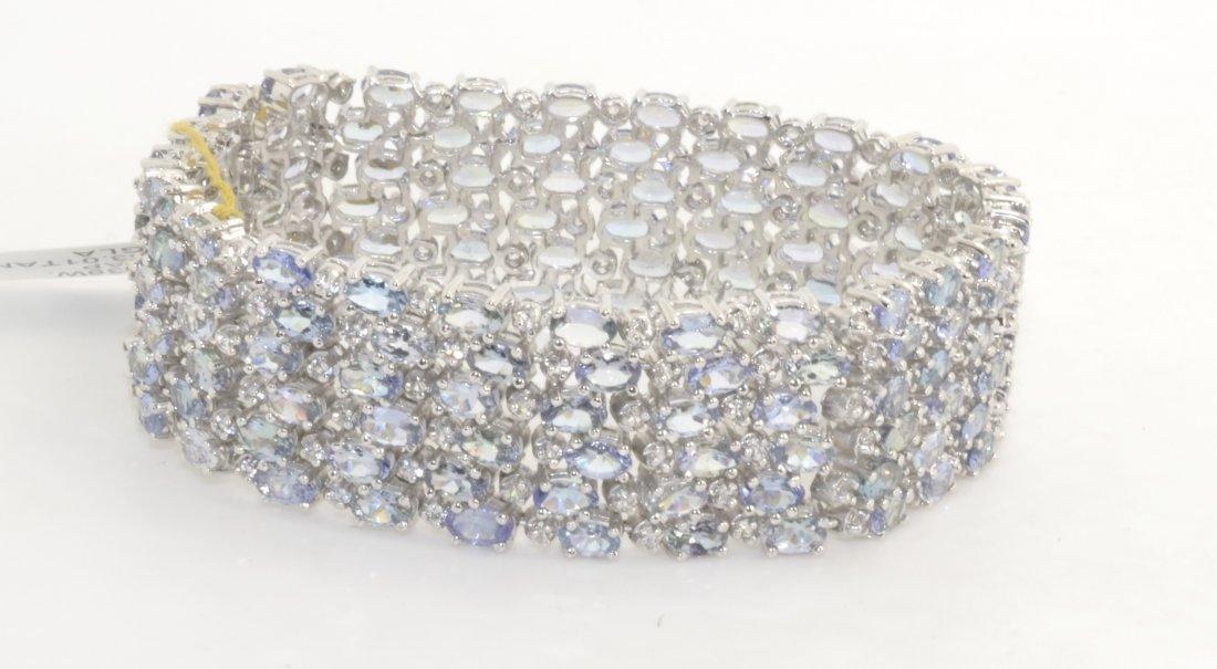 Tanzanite & Sapphire Bracelet AV: $19,864