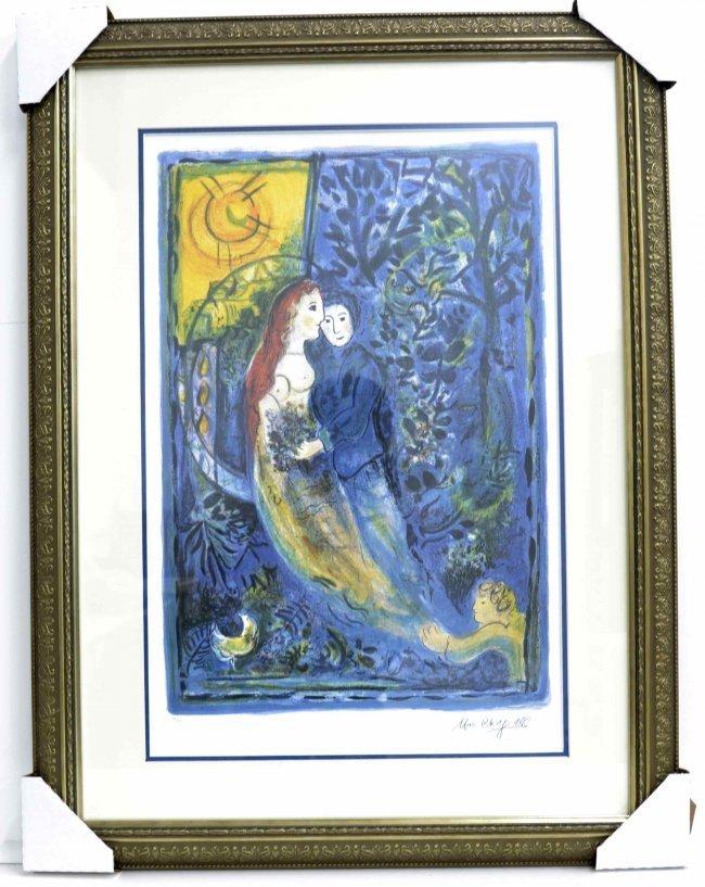 "Marc Chagall's ""The Wedding"" Art (FRAMED)"