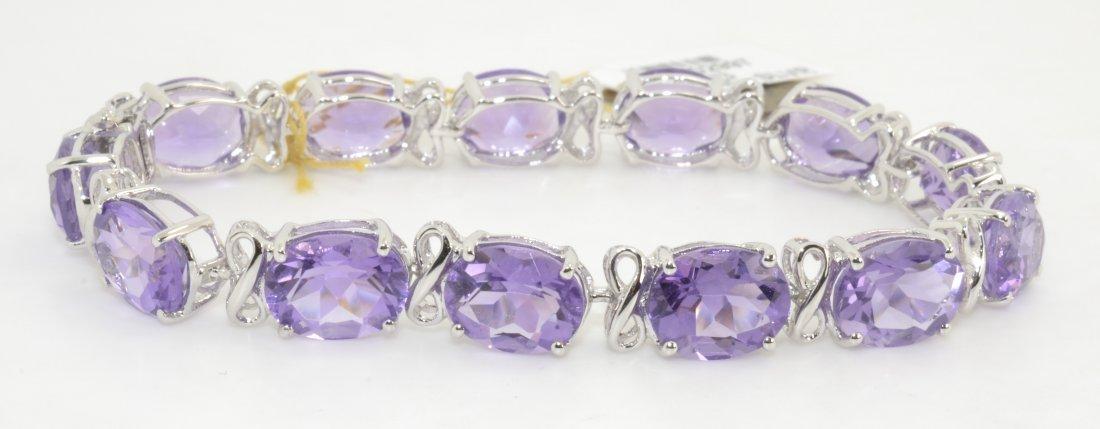 Amethyst Bracelet Apprasied Value: $7,334