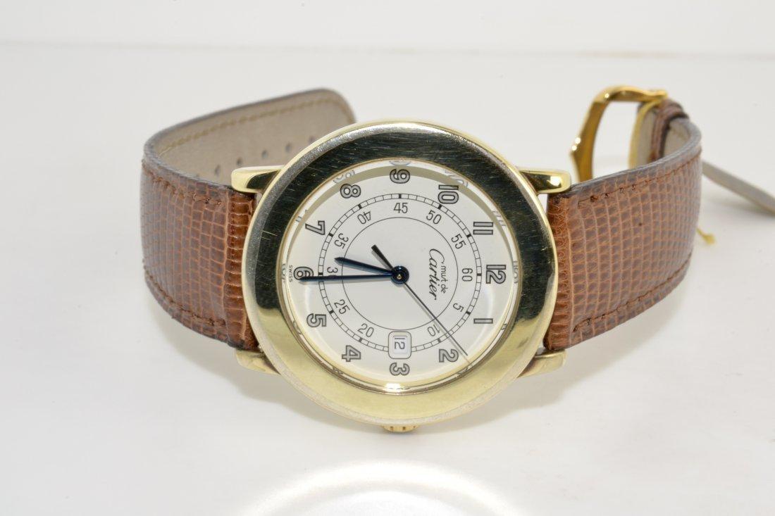Cartier Must De Vermeil Wristwatch