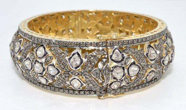 Diamond Bangle Bracelet Appraised Value: $20,915