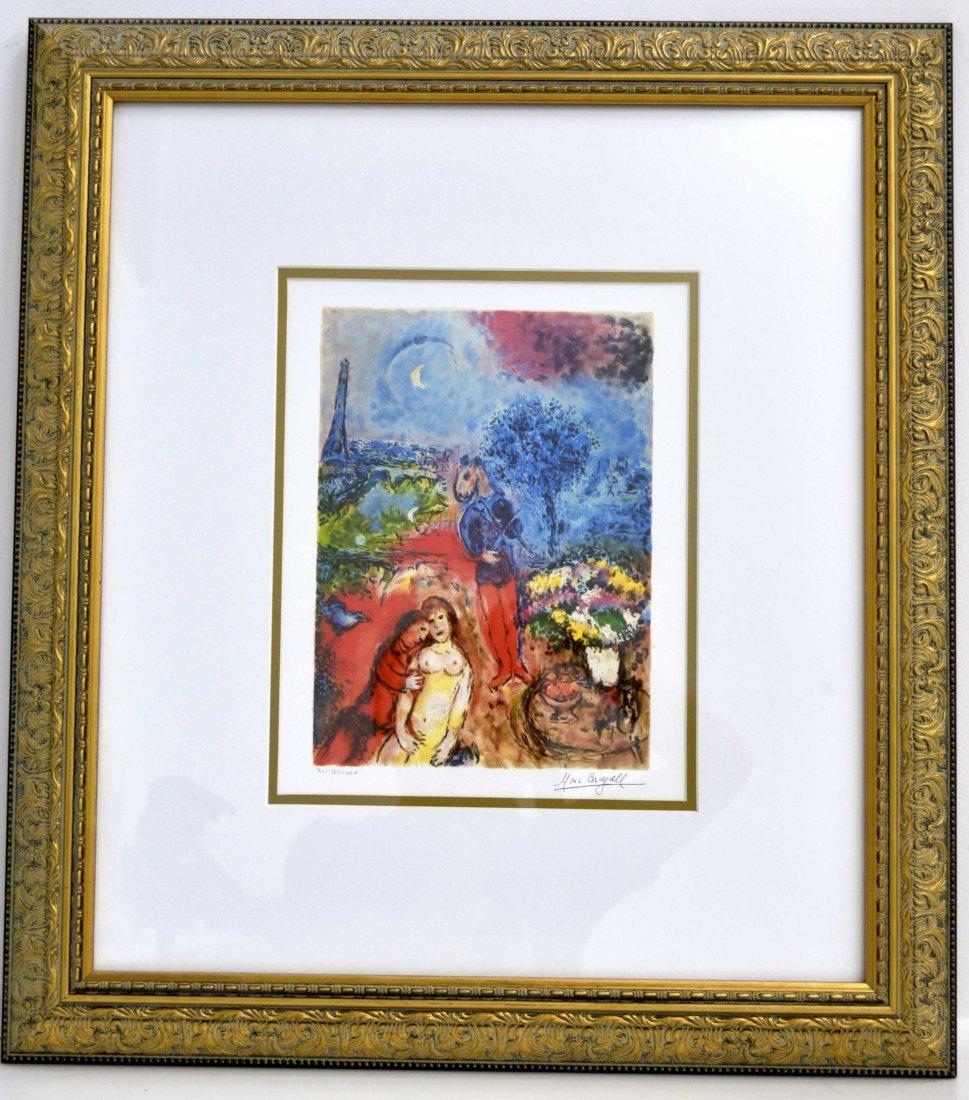 """Marc Chagall's """"Serenade"""" Art (FRAMED)"""