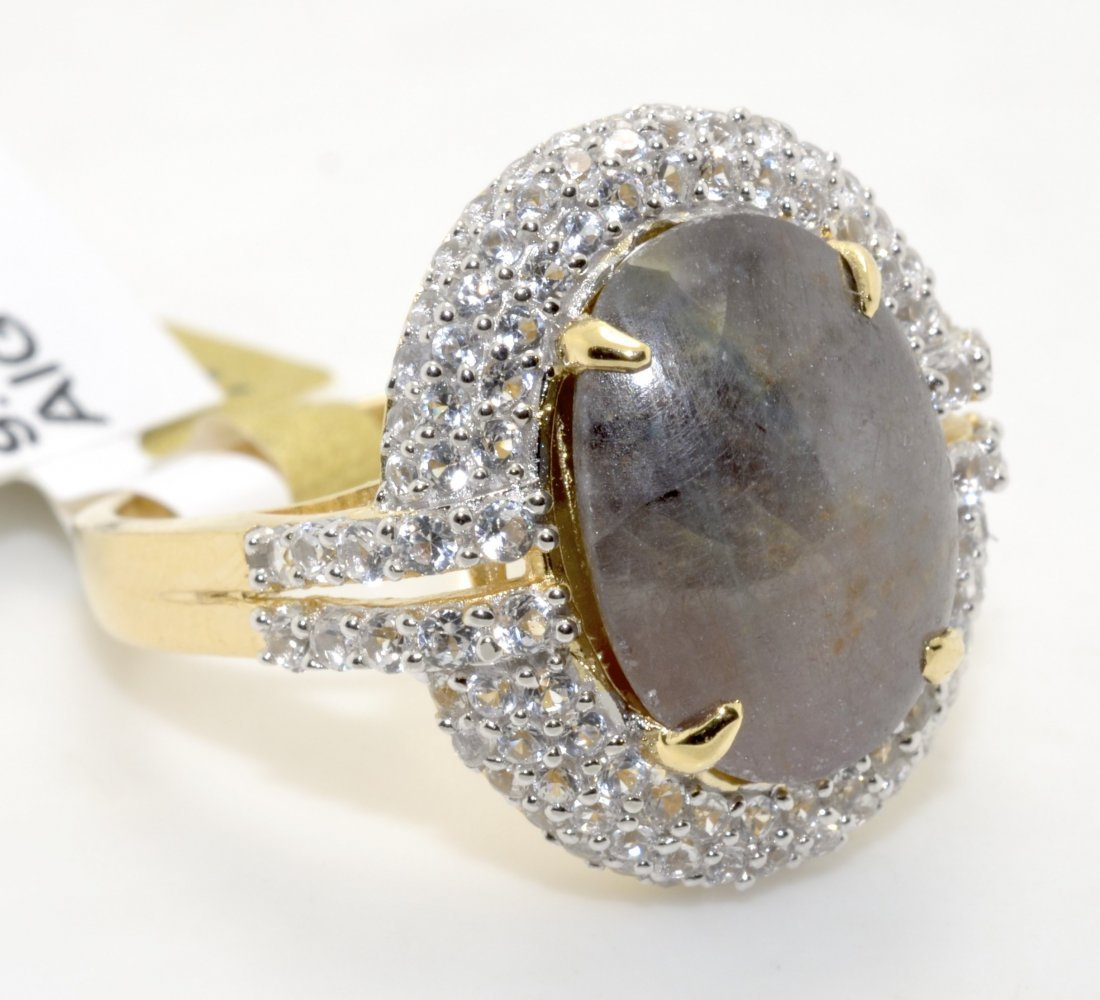 Ruby & Sapphire Ring Appraised Value: $1,835