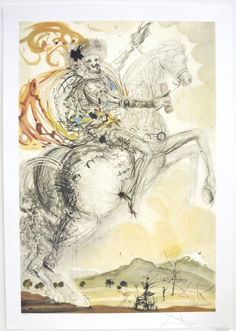 """Salvador Dali's """"El Cid"""" Art (PRINT)"""
