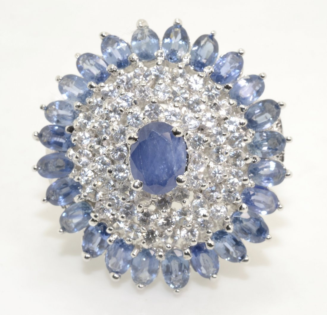 Sapphire Ring Appraised Value: $14,162