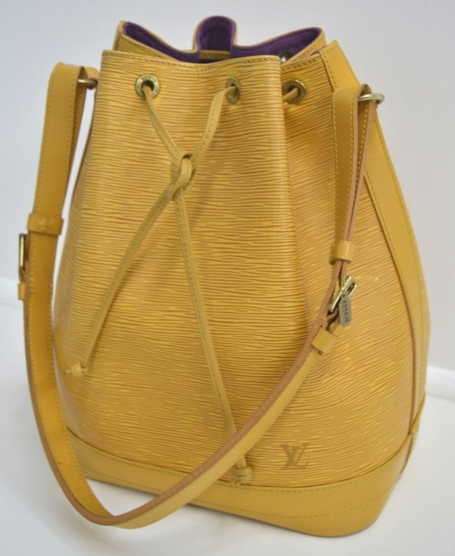 Louis Vuitton Epi Noe Bucket Bag (USED)