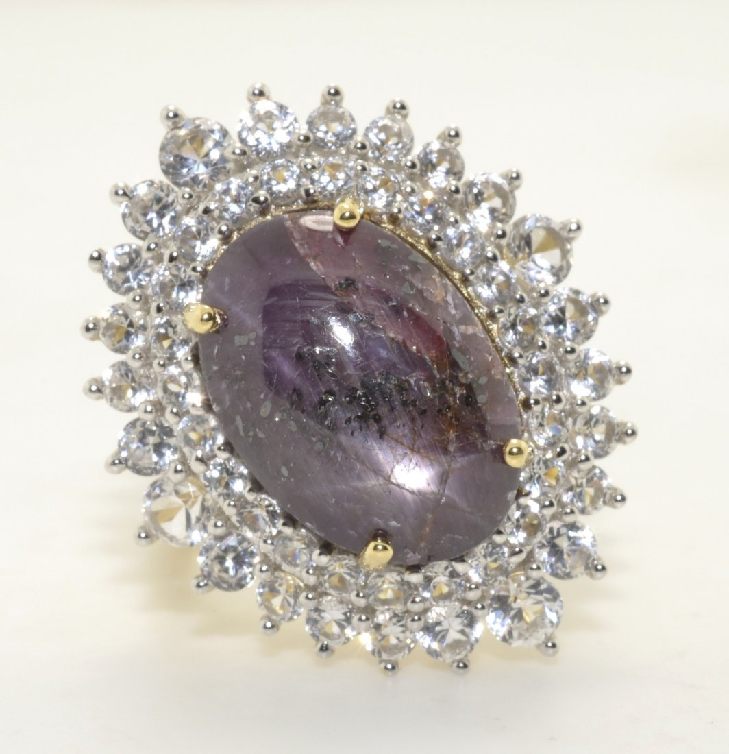 Ruby & Sapphire Ring Appraised Value: $5,257