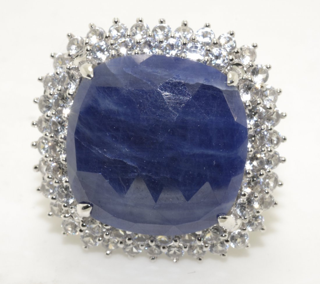 Sapphire Ring Appraised Value: $2,740