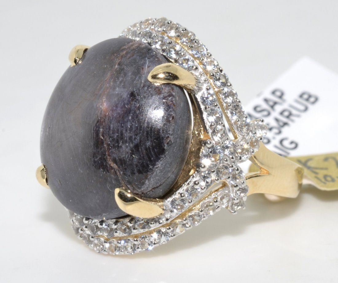 Ruby & Sapphire Ring Appraised Value: $2,560