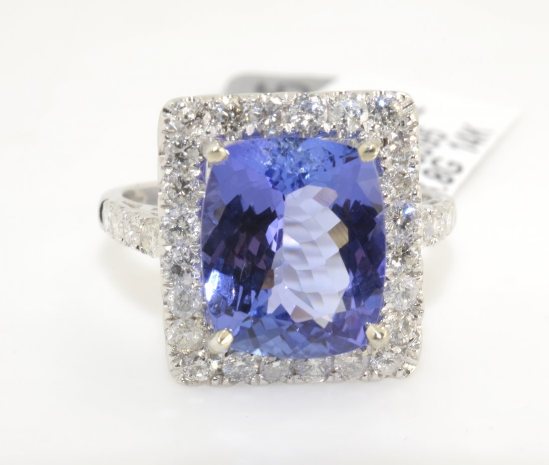 Tanzanite & Diamond Ring APP: $13,015