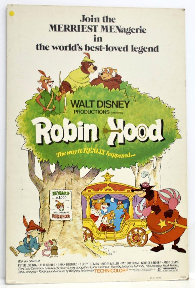 1973 Walt Disney Robin Hood *ORIGINAL* Movie Poster!
