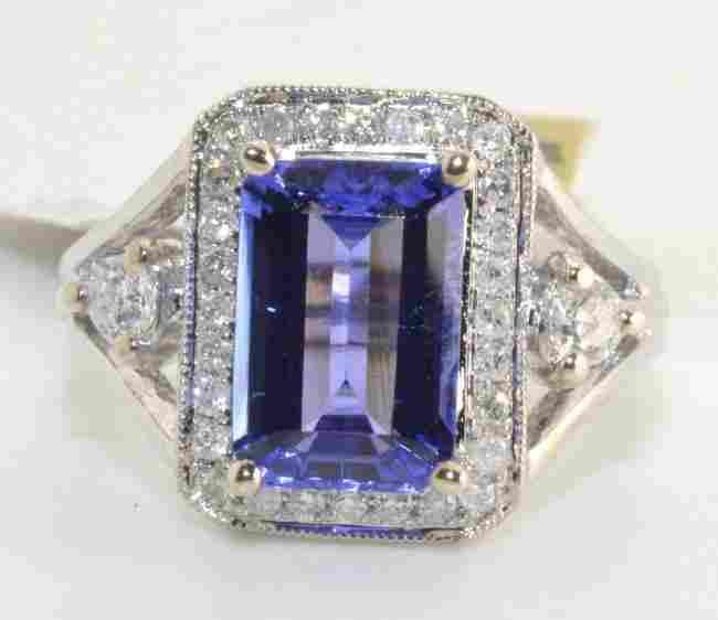 Tanzanite & Diamond Ring Appraised Value: $8,825