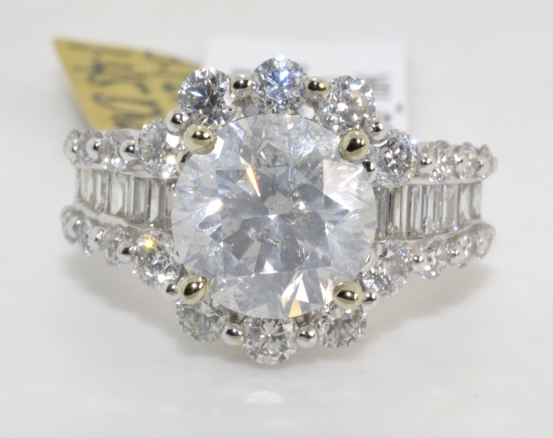 Diamond Ring Appraised Value: $70,800