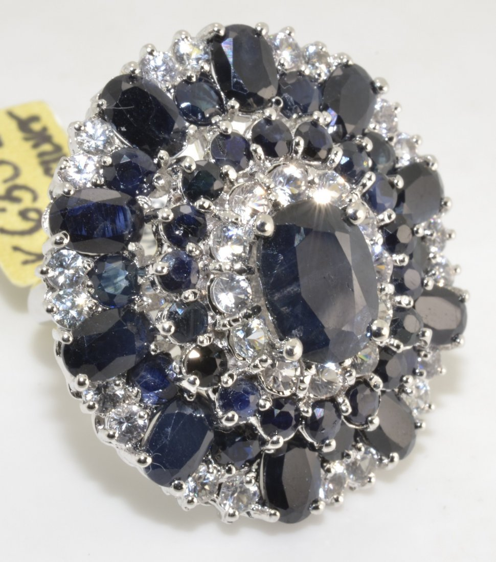Sapphire Ring Appraised Value: $14,123