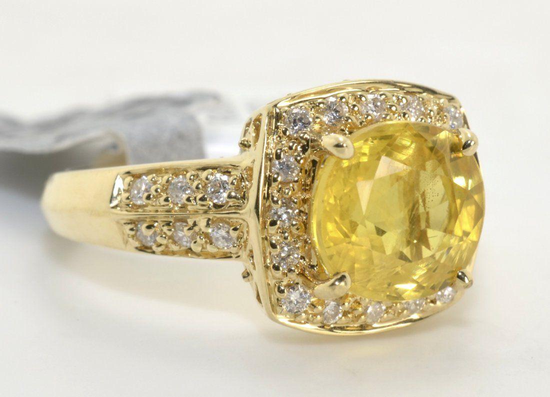 Sapphire & Diamond Ring Appraised Value: $7,630