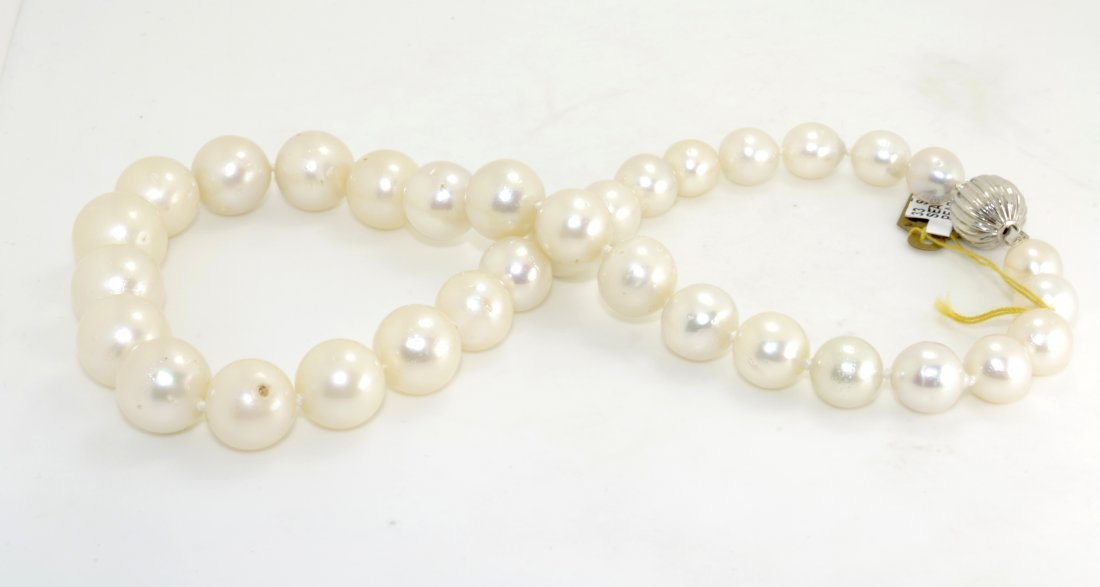 South Sea Cultured Pearl Necklace AV: $10,990
