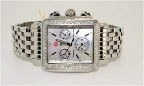 Original Michele Diamond Watch Previously Owned