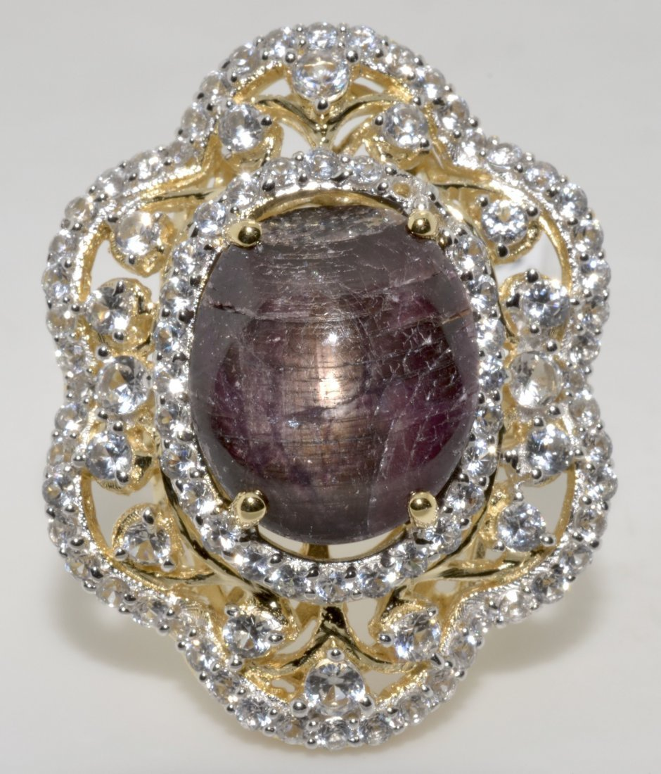 Ruby & Sapphire Ring Appraised Value: $5,526