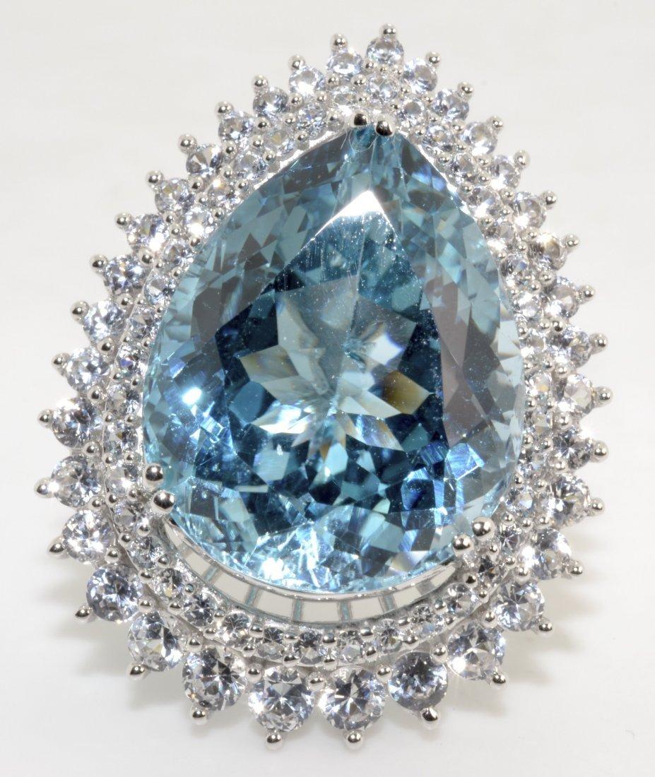 Topaz & Sapphire Ring Appraised Value: $2,350