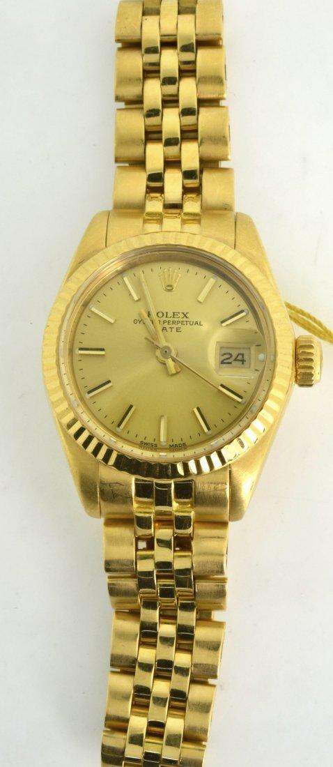 Rolex 18KT Gold Watch Appraised Value: $ 14,990