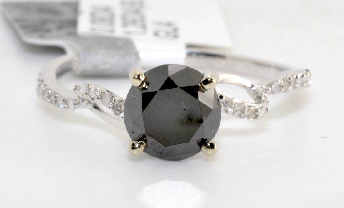 Black & White Diamond Ring Appraised Value: $3,202