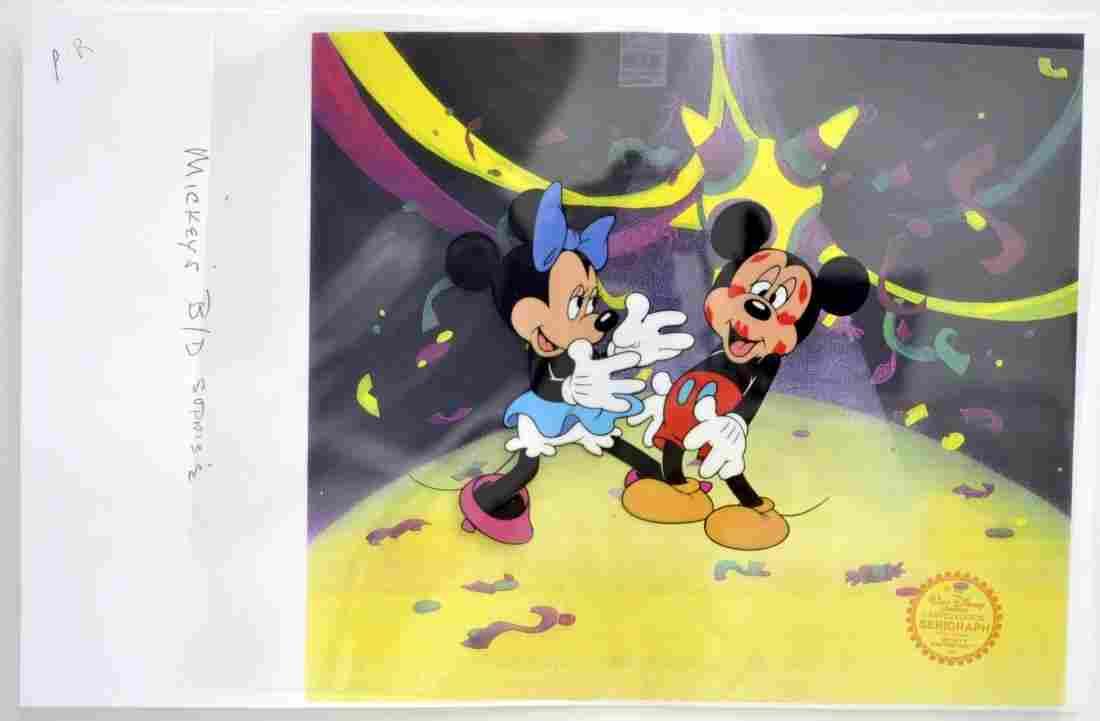 "Walt Disney's ""Mickey's Surprise Party"" (Serigraph Cel)"