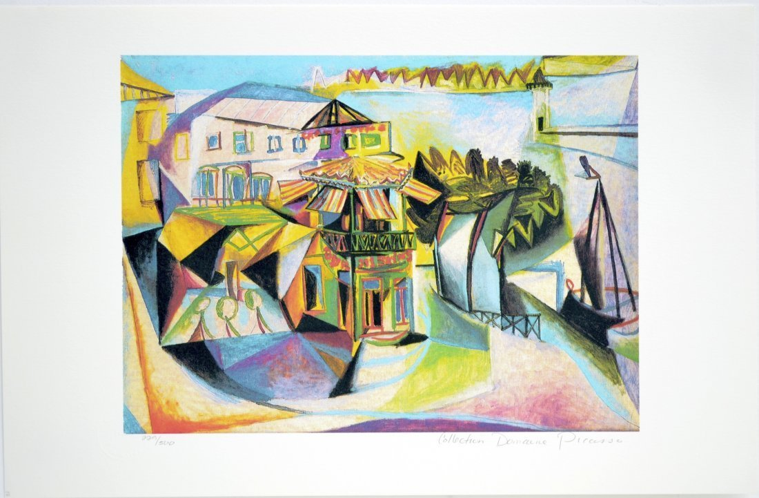 "Pablo Picasso's ""CafŽ at Royan"" (GICLEE)"