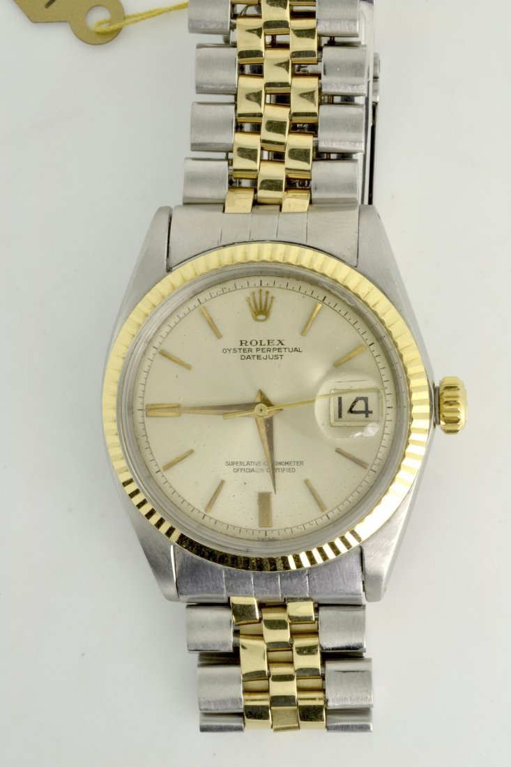 Rolex Oyster Perpetual Two-Toned Wristwatch