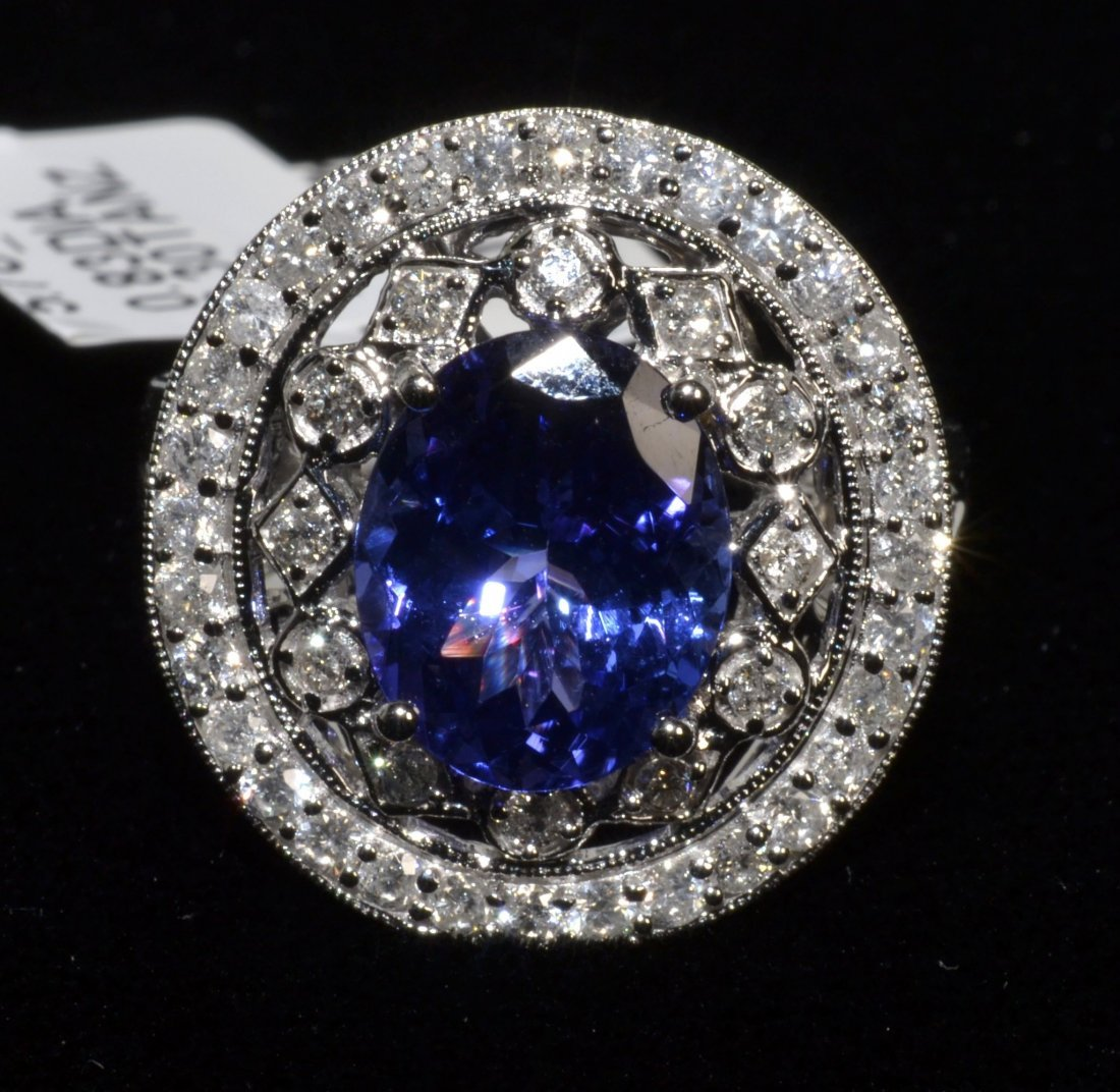 Tanzanite & Diamond Ring Appraised Value: $11,345