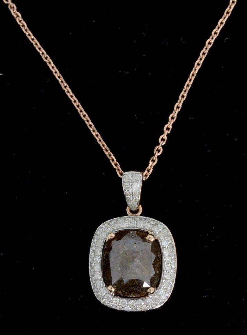 Diamond Necklace Appraised Value: $8,500