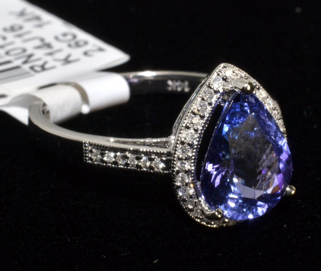 Tanzanite & Diamond Ring Appraised Value: $6,655
