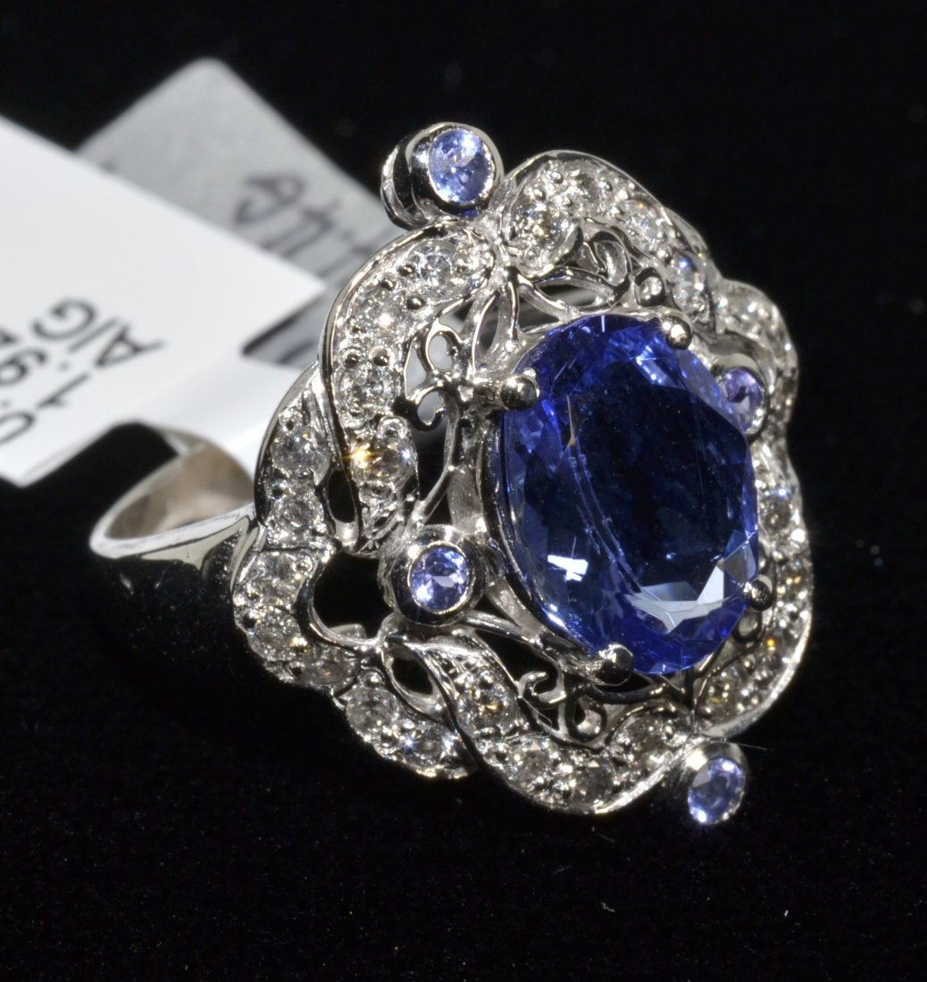 Tanzanite & Diamond Ring Appraised Value: $5,070