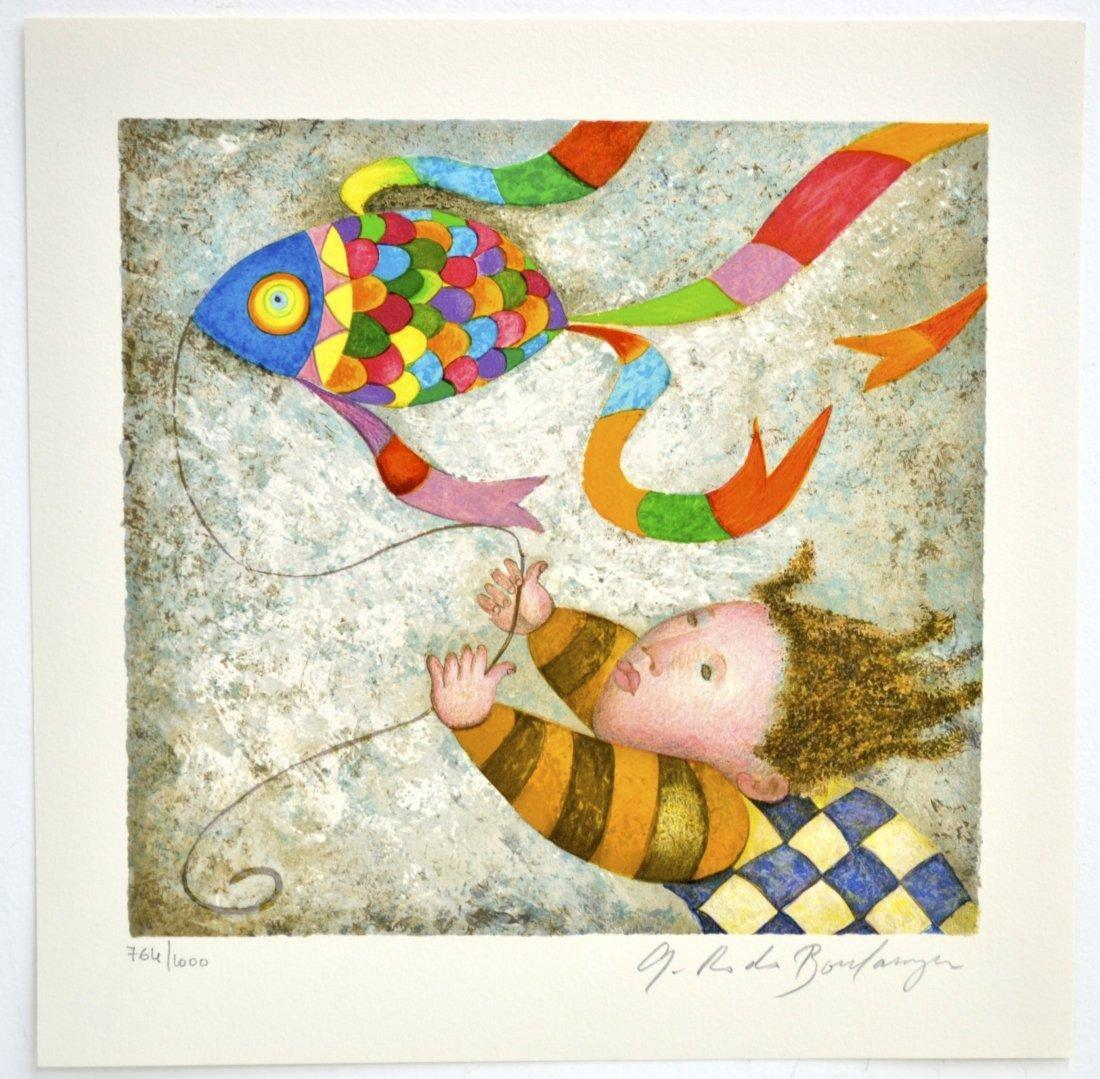 "Graciela Rodo Boulanger's ""Les Belles Annees"" Art"