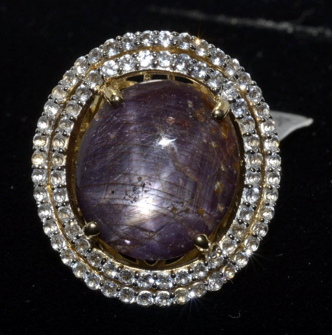 Ruby & Sapphire Ring Appraise Value: $12,010